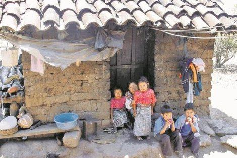 Pobreza rural en Guatemala